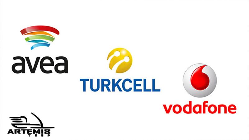 اپراتورهای تلفنهمراه در ترکیه